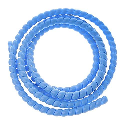 HIXISTO Cable Sleeves,Cubre Cables Organizador de línea Protección de tubería Espiral Wrap...