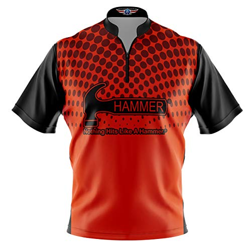 Logo Infusion Bowling Dye-Sublimated Jersey (Sash Collar) - Hammer Style 0354 - Sizes S-3XL (2XL)