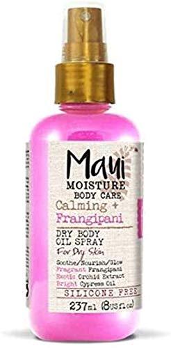 Maui Moisture Calming Frangipani Dry Body Oil Spray, für trockene Haut 237 ml