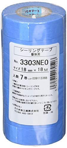 カモ井 マスキングテープ(躯体シーリング用)7巻入り 3303NEOJAN18 [養生テープ]