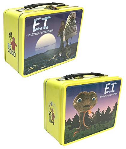 Factory Entertainment E.T. Retro Style Tin Tote, 6', (Model: 408300)