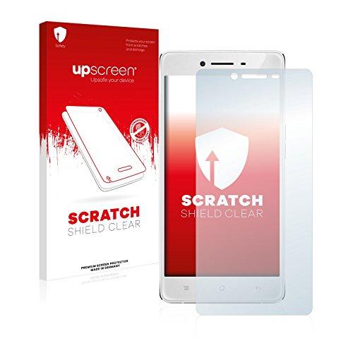 upscreen Schutzfolie kompatibel mit Oppo R7 Lite – Kristallklar, Kratzschutz, Anti-Fingerprint