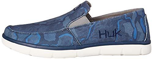 HUK Men's Brewster Slip on Wet Traction Fishing & Deck Shoes Footwear