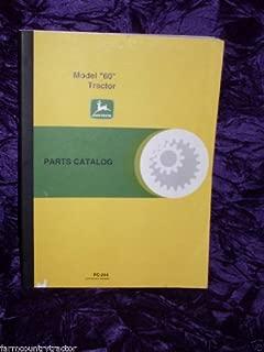 John Deere 60 Loader OEM Parts Manual