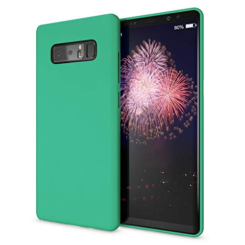 NALIA Funda Neon Compatible con Samsung Galaxy Note 8, Carcasa Protectora Movil Silicona Ultra-Fina Gel Bumper, Ligera Goma Cubierta Cobertura Delgado Telefono Cover Phone Case, Color:Verde