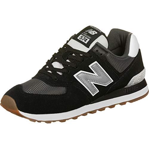 New Balance Herren 574v2 Sneaker, Schwarz (Black/Grey SPT), 46.5 EU