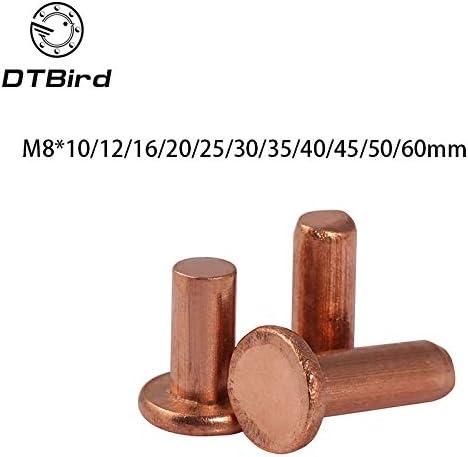 Ochoos 10pcs M8x10 12 16 20 25 30 60mm Length 50 35 Sale special price 40 flat Popular h 45