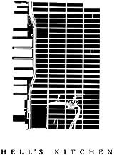 Hell's Kitchen Neighborhood Map - Manhattan, New York City Poster