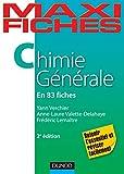 Maxi fiches de Chimie générale - 83 fiches