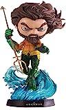 Minico ismh0008 Aquaman - Figura Decorativa (Pintada a Mano, con Pedestal, 20 cm)