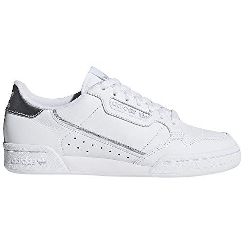 adidas Continental 80 Blancas, Zapatillas Deportivas para Mujer. Sneaker. Nostalgia Vintage