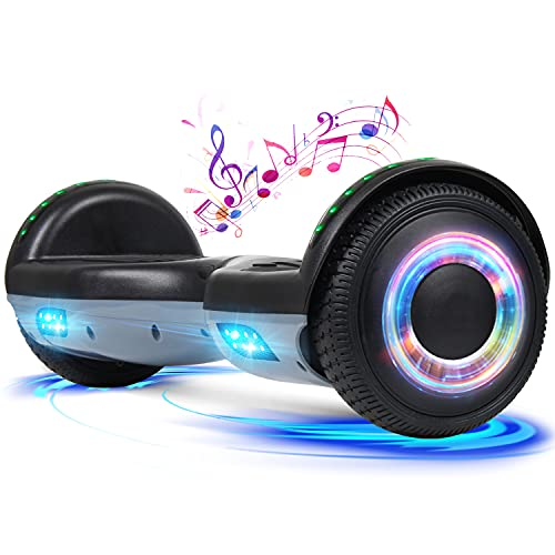 UNI-SUN Hoverboard for Kids, Mixing Color 2.6 Times Walking Speed, UL2272...