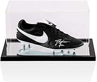 e4c144f8de7 John Barnes Signed Football Boot Nike - In Acrylic Case Autograph Cleat - Autographed  Soccer Cleats