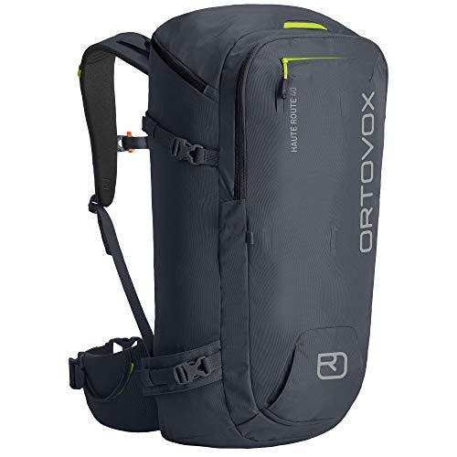 Ortovox unisex_adult HAUTE ROUTE 40 Backpack, Black steel