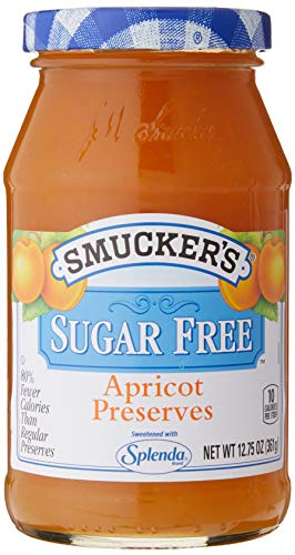 Smucker s Sugar Free Splenda Apricot Preserves, 12.75 oz