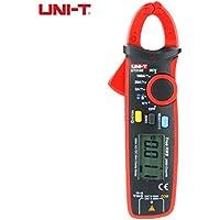 Rekkles DC amperímetro capacitancia probador Uni-T Pinza Pinza amperimétrica UT210E Mini UT210D multímetro Digital AC