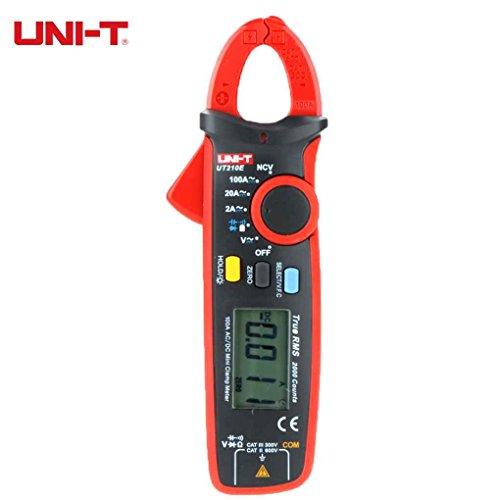 Rekkles Kneifzange Clamp Meter UT210E Mini UT210D Digitale UT210E Zangenmessgerät Multimeter AC-DC-Amperemeter Kapazität Tester