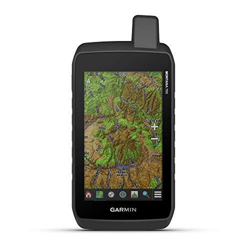 Garmin Montana 700, robusto GPS Handheld, mapeo de rutas y senderos, pantalla táctil a color de 5 pulgadas amigable con guantes (010-02133-00)