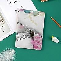 新しい ipad pro 11 2018 ケース スリムフィット シンプル 高級品質 防止 二つ折 開閉式 防衝撃デザイン 超軽量&超薄型 全面保護型 iPad Pro (11 インチ)東洋傘水彩画の筆で描く女