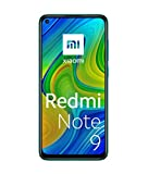 Xiaomi Redmi Note 9 Smartphone 6.53' FHD+ Display, 3GB/64GB, 4G, Dual Sim, Forest Green [European Version]