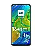 "Xiaomi Redmi Note 9 Smartphone 4GB 128GB, 48MP Quad Camera, 6.53""FHD + DotDisplay, 5020 mAh, 3.5mm Headphone Jack NFC, Forest Green Verde [European version]"