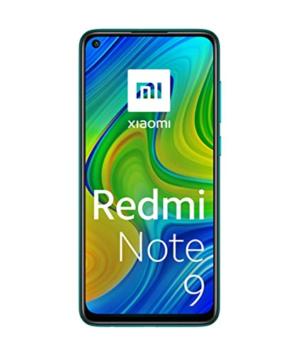 Xiaomi Redmi Note 9 -Smartphone 6.53' FHD+ DotDisplay (4GB RAM, 128GB ROM, Quad Camera , 5020mah Batteria, NFC) 2020 [Versione Italiana] - Colore Forest Green
