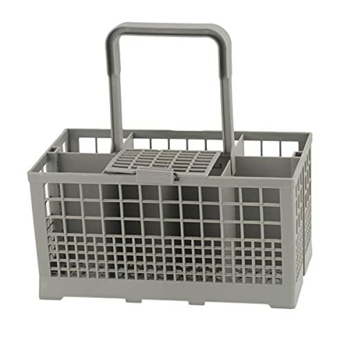 Dswe Caja de Almacenamiento de Cesta de Cubiertos Universal para lavavajillas, Pieza de Repuesto para Utensilios de Cocina, Caja de Almacenamiento para lavavajillas