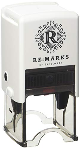 Re:Marks Personalized Designer Address Stamp