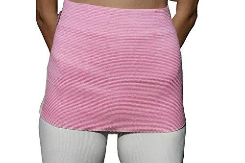 Elasma Nierenwärmer für Herren und Damen - Rückenwärmer - Nierengurt - Wärmegürtel (Pink, s)