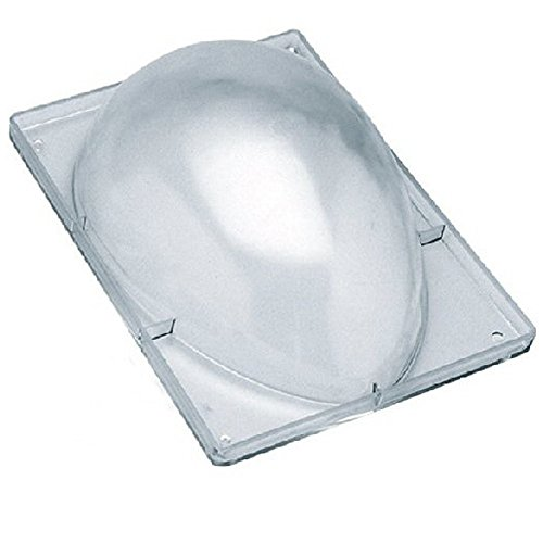 DECORA 0050058 Backform Ei mit 1 Mulde Polycarbonat 350 g 230 x 165 mm