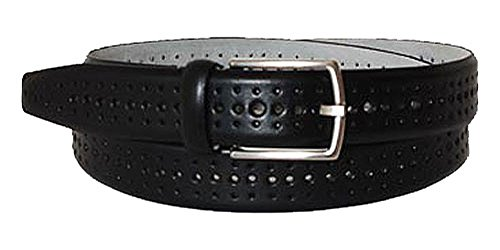 BOSS Ceinture homme men's belt leather black 34