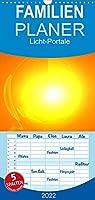 Licht-Portale 2022 - Familienplaner hoch (Wandkalender 2022 , 21 cm x 45 cm, hoch): Energetisierende und motivationsfoerdernde Licht-Energie-Kunst fuer mehr Vitalitaet und Lebensenergie. (Monatskalender, 14 Seiten )