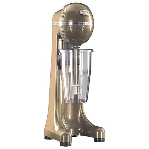 JOHNY Frappe Maker–400Watt 5SPEED automatisch gewerblichen Drink Mixer–elektrischen Milch Shake Maker/Gold/AK/2–5ta-ral-gm/Made in Griechenland