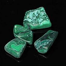 BIGSTAR Noble Cristales, 6 Pedazos de Cristales de Malaquita Natural Que Caen Cristales Chakra Healing Aura de curación for Que la decoración del hogar, de los Ornamentos Accesorios Femeninos