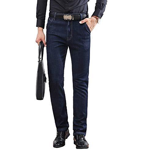 Huixin Ssige Los Hombres Rectos De Los Pantalones Vaqueros Moda Diseño Original...