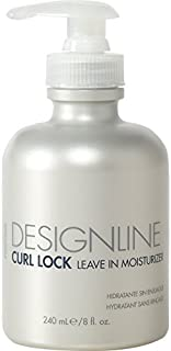 Curl Lock Leave-in Moisturizer, 8 oz - Regis DESIGNLINE - Leave-In Conditioner Treatment that Helps with Shape Retention and Works as an Instant Detangler for Defrizzing Curly Hair (8 oz)