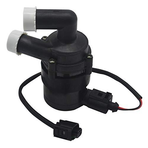 KASturbo 7N0965561 Elektromotor Zusätzliche Wasserpumpe und Anschluss, Wasserpumpen-Kit Stecker für A3 Golf V VI Touran Tiguan Sharan