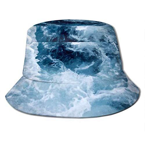 Be-ryl Sun Cap Sea Ship Trail Foamy Wave Cubo Tropical...