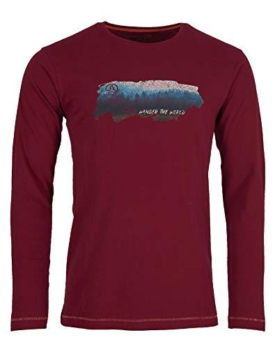 Ternua Camiseta Loha T-Shirt M Hombre, Rumba Red, S