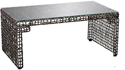 "Amazon.com: WE Furniture, mesa de centro de 40"" para ..."