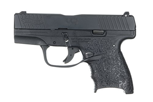 TALON Grips Walther PPS M2 Rubber Grip, Black