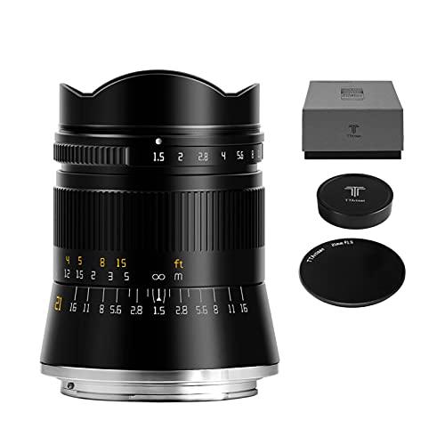 TTArtisan M21MM F1.5 ASPH lente de cámara de marco completo gran angular de apertura compatible con Nikon Z Mount Z5 Z6 Z7 Z50 Z6II Z7II