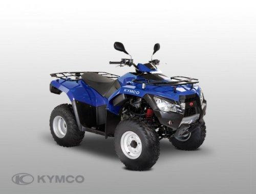 Kymco MXU 300 R Offroad, color verde