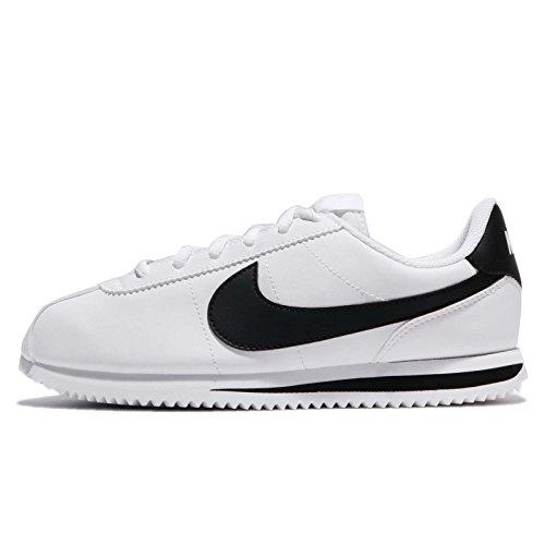 Nike Cortez Basic SL (GS), Scarpe Running Bambina, Bianco (White/Black 102), 35 EU
