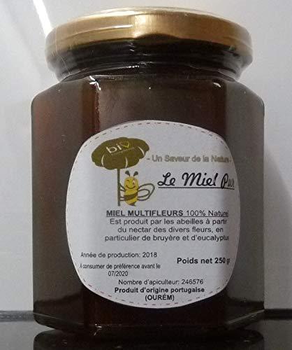 miel multifleur bio bruyère et eucalytus 250g