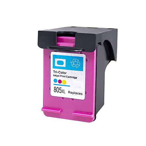 SXCD Reemplazo de Cartuchos de Tinta remanufacturados Adecuado para HP805XL, para HP 1210 1211 1212 1213 2330 2331 2332 Impresora 1~Color