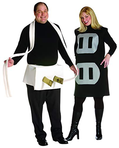 Rasta Imposta Plug and Socket Couples Plus Size Costume