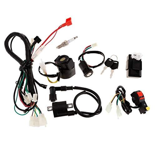 LILICEN CY Bobina de Encendido eléctrico CDI Cableado de cableado para 150cc Pit Quad Suck Bike