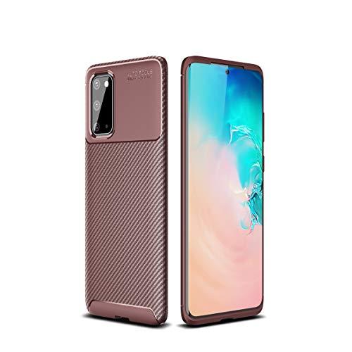 Cruzerlite Custodia Galaxy S20, Cover Galaxy S20, Carbon Fiber Texture Design Cover Anti-Scratch Shock Absorption Case for Samsung Galaxy S20...