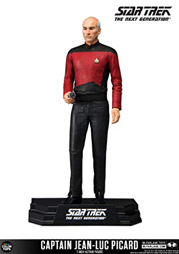 McFarlane- Star Trek Captain Jean-Luc Picard Figure, Multicolor (13014-0)